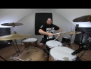 Bullet Club The Elite Theme Songs On Drums(Brooks Farris Drums)
