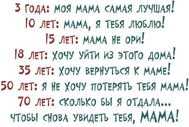 О маме