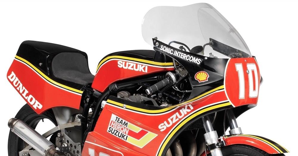 Супербайк Suzuki XR69 Мика Гранта