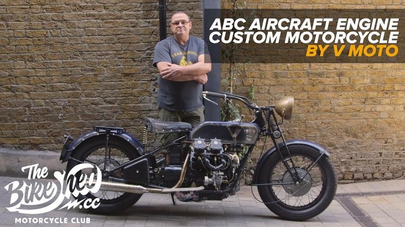 Viv's Aircraft Engine ABC Custom Motorcycle