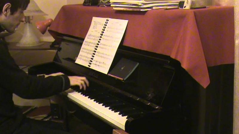 Piano - W.A.Mozart Menuet K.2