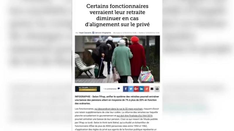 Pierre Jovanovic : Macron racle les fonds de tioirs et braque les fonctionnaires, pour satisfaire ses patrons !