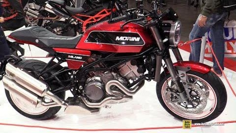 2018 Moto Morini Milano - Walkaround - 2017 EICMA Milan Motorcycle Exhibition