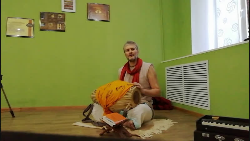 Праздничная программа Е. М. Лока Павана Гаура прабху