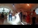 Свадьба Ромы и Кристины Конкурс с лентами