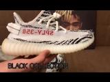 "Yeezy Boost V2 350 ""Zebra"" обзор BLACK COLLECTION"