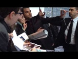 Захари Куинто на премьере фильма «Стартрек: Возмездие» в Москве