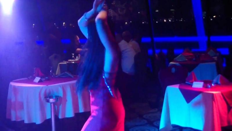 Ksenia Assal bellydancer. Cairo blue nile