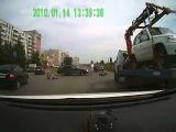 Полицейский сбил скутериста Тольятти 8 08 13 ) (1)