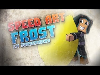 Minecraft Speed Art-Frost (1 m подписчиков)