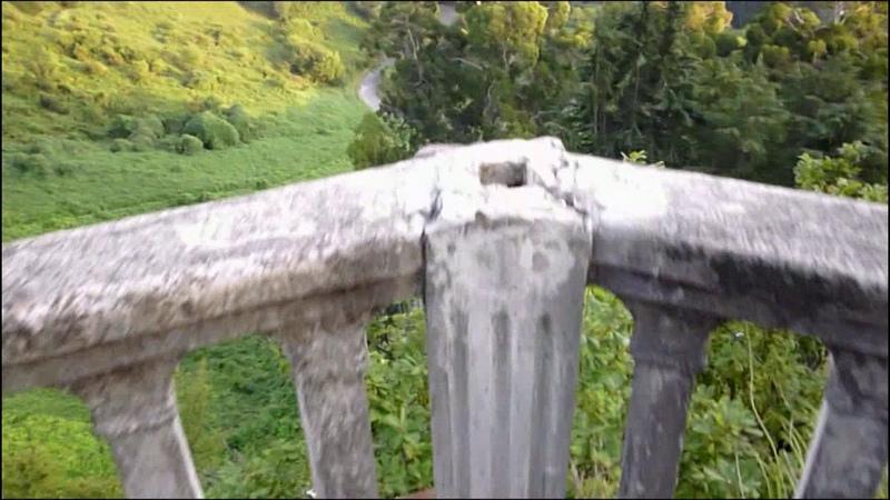Редкие кадры. Смотровая площадка Ласточкино гнездо дачи Сталина в Новом Афоне ( Абхазия ).
