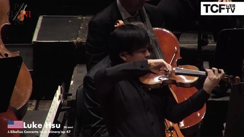 55-й Конкурс скрипачей имени Паганини. Финал: Luke Hsu - J. Sibelius ''Concerto in re minore op. 47'' (Генуя, 2018)