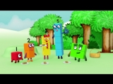 Numberblocks - The Number Five Learn to Count