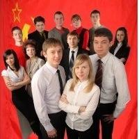 Логотип (Владимирский) Ленинский Комсомол-(В)ЛКСМ