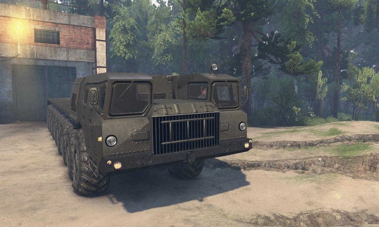 МАЗ-7410 16x16 для 8.11.15 для Spintires - Скриншот 1