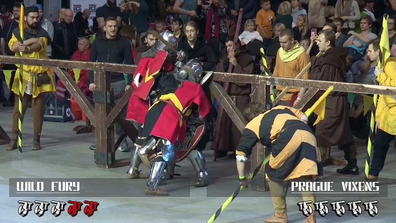 Dynamo Cup 2018 5vs5 women 2fight Prague Vixens vs Wild Fury