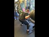 Влад Алхазов (Израиль), присед в бинтах без ремня - 330 кг на 5 раз💪