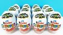 Киндер Сюрприз NATOONS 2019! Новая серия ИГРУШКИ ЗВЕРЮШКИ Unboxing Kinder Surprise eggs