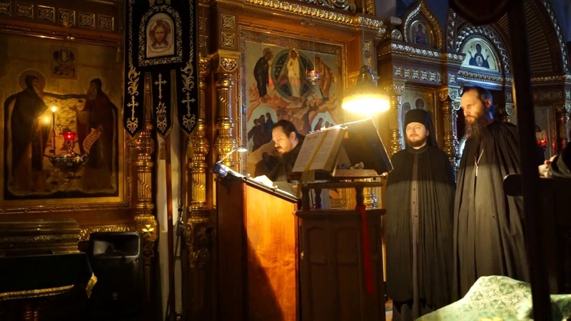Блаженны с тропарями Свтт. Афанасия и Кирилла ( валаамское песнопение).