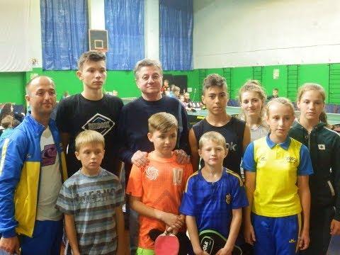 X міжнародний турнір Кубок Анатолія Строкатова 2018 урочиста частина настільний теніс