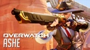 Ashe Official Hero Reveal Trailer - OVERWATCH   BlizzCon 2018