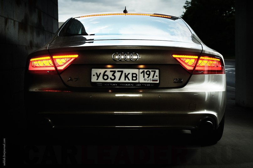Audi A7 led tail lights