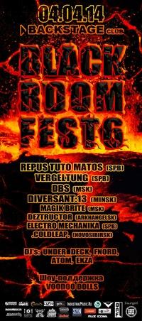 BLACK ROOM FEST 6 * SPB * 4/04/2014