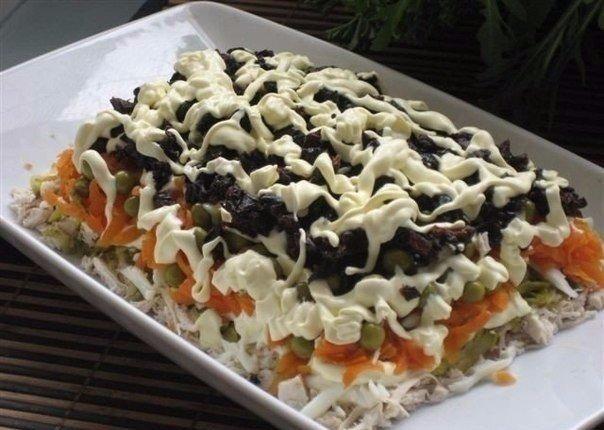 Рецепт этого салата будут выпрашивать все гости. Очень вкусный… (1 фото)