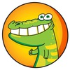 Полосатый крокодил