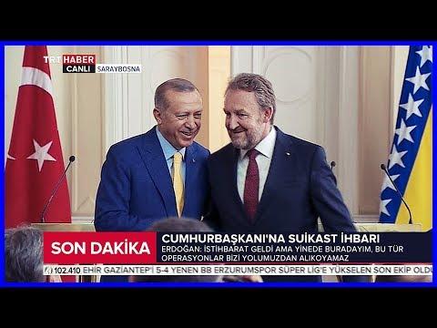 Cumhurbaşkanı Erdoğan İle İzzetbegoviçin Ortak Basın Açıklamaları 20 Mayıs 2018