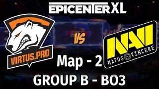 Virtus.Pro vs NaVi - МАТЧ №2 - Bo3 Группа B, 4-й день EpicenterXL [Mael + Jam] + Аналитика