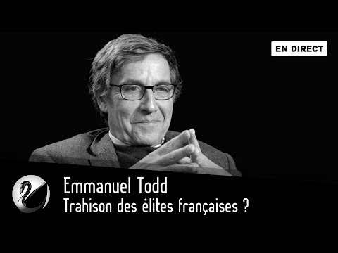 Emmanuel Todd Trahison des élites françaises [EN DIRECT]