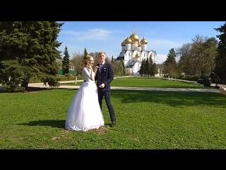 Запуск голубей на свадьбе!