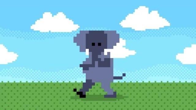 Cheerful Elephant (sound: Old.Space.man - Elephant's gait)