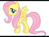 Мой маленький пони смотреть Спасение Флаттершай, игра как мультик для детей My little pony