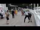 Драка в Геленджике.Трое пьяных славян против кавказца с пистолетом