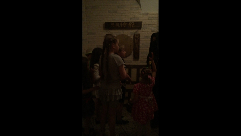 Финал квеста «Кунг-Фу Панда» для детей