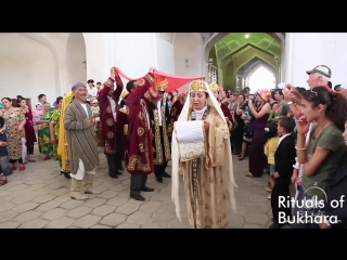 """Salomnoma""-one of the rituals of Bukhara.Festival ""silk and spices"" in bukhara."