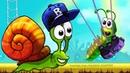 Несносный УЛИТКА БОБ 3 Мульт Snail Bob 3 1 Игровой мультик для детей про животных