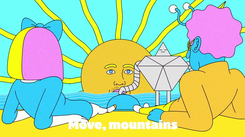 LSD - Mountains (Official Lyric Video) ft. Sia, Diplo, Labrinth