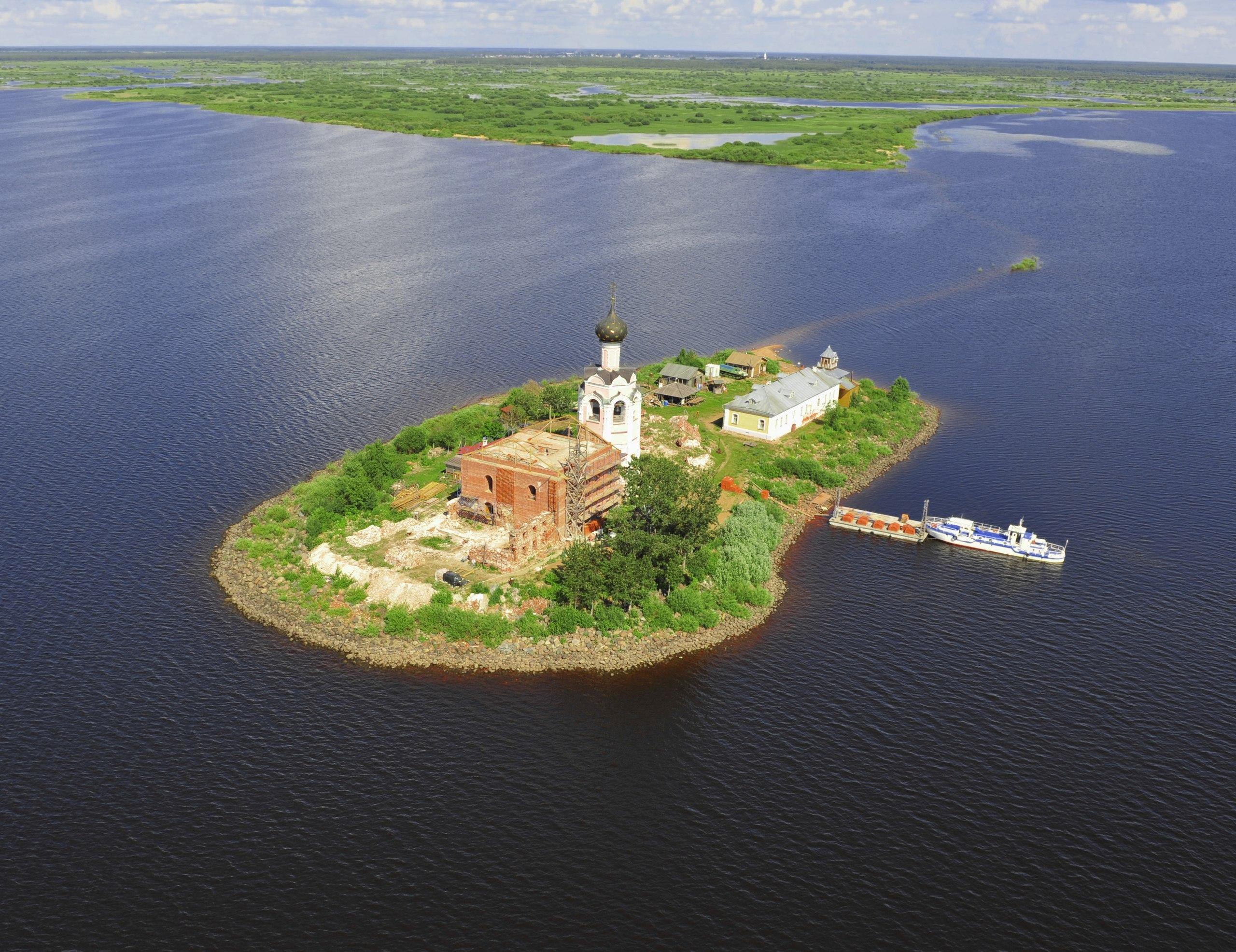 кубенское озеро фото первого