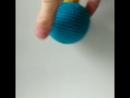 Бирюзовый новогодний шарик