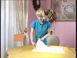 Блузка - хлопковое шитье (мастер-класс)