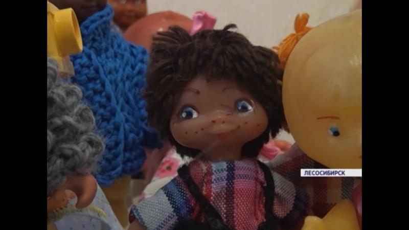 Жительница Лесосибирска собрала коллекцию игрушек советских времен