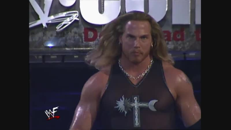 British Bulldog Vs Test - Steel Cage Match - RAW 25.10.1999