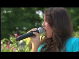 Sarah Engels - Only For You (ZDF Fernsehgarten 02.10.2011) - песня Дитэра Болена (Dieter Bohlen)