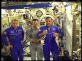 Международная Космическая Станция. Поздравление с Днем космонавтики