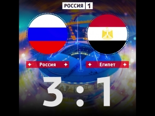 Прогноз на матч Россия - Египет