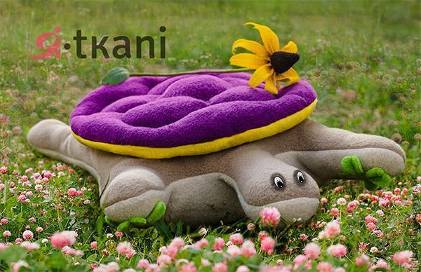 Подушка-игрушка черепаха. (9 фото) - картинка