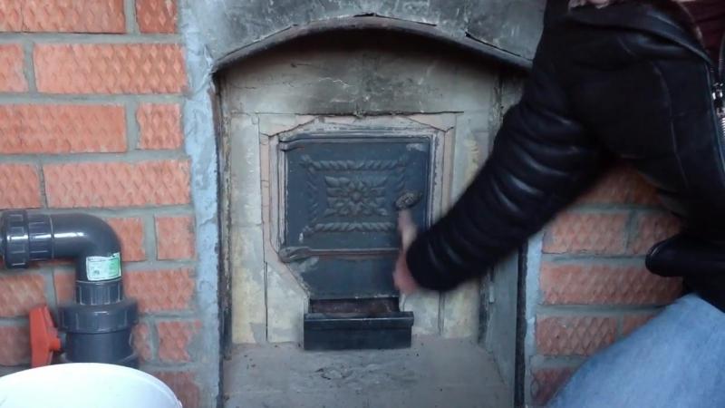 Как топить баню брикетами RUF ЕвроДрова 4